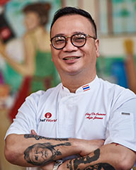 Chef Alfie Mossadeg | Malay Cooking Classes In Singapore | Palate Sensations