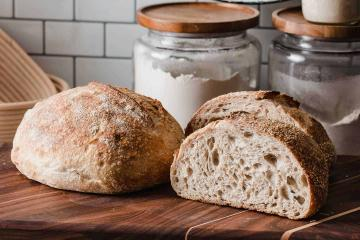 Sourdough Breads:  Overnight fermentation