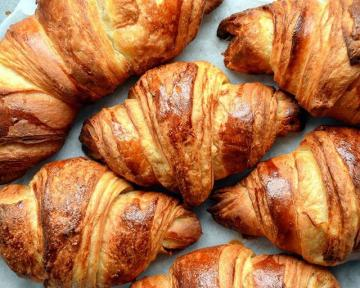 Laminated Doughs: Buttery Croissants 3 ways