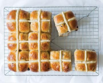 Celebrating Easter With Hot Cross Buns