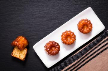 Choux Pastry And Canele De Bordeaux