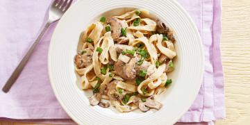 ONLINE LIVE @ HOME For Kids: Creamy Mushroom Tagliatelle