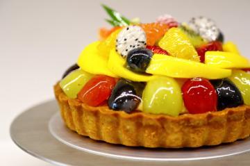 Japanese Intricate Fruit Tart