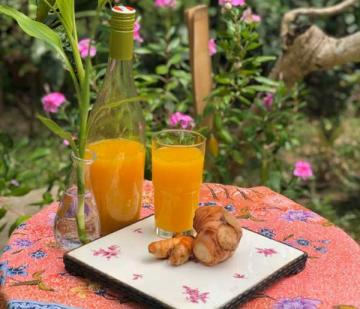 One way to stay healthy during Covid-19: Making Indonesian Jamu (Herbal Balinese Drink)