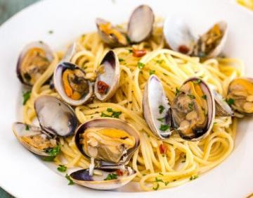 Fresh Pasta With Seafood