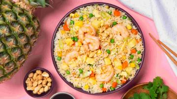 ONLINE LIVE @ HOME For Kids: Thai Pineapple Fried Rice